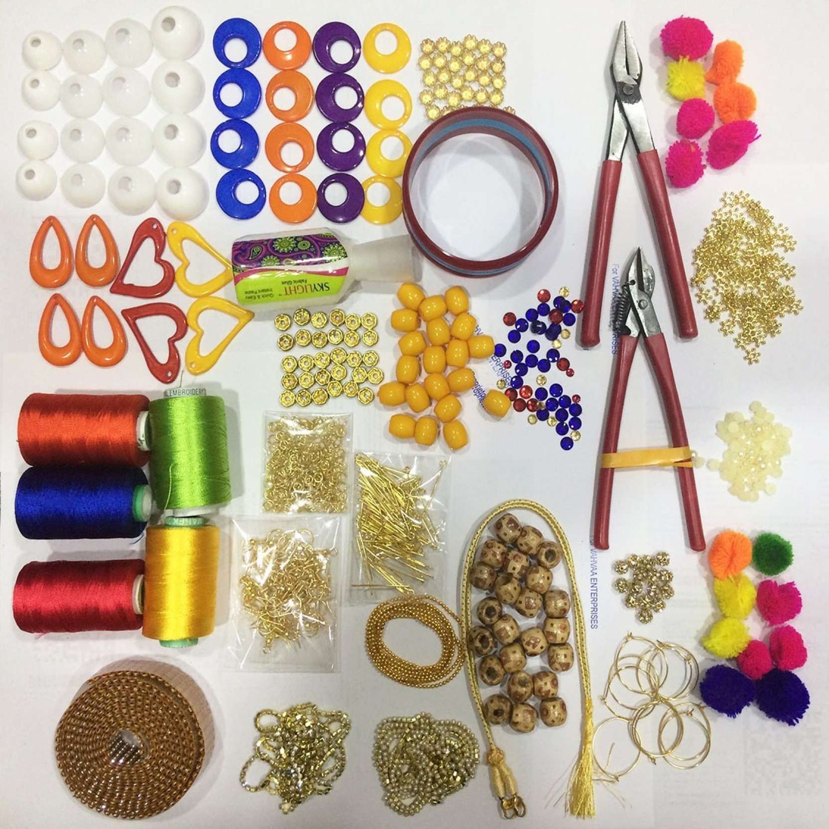 d541f490a8 Valuebuy Silk Thread Jewellery Making Quality Kit,. ADD TO CART. BUY NOW