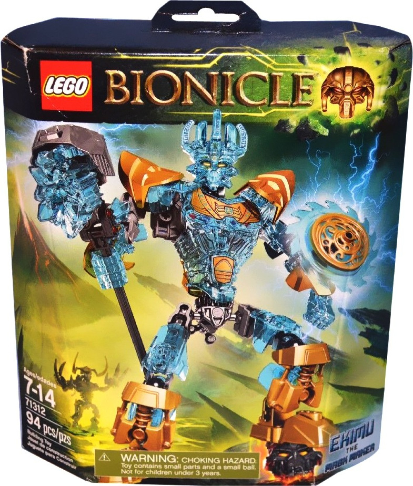Lego Bionicle Buy Ekimu The Mask Maker Toys In India 70605 Ninjago Misfortunes Keep Share