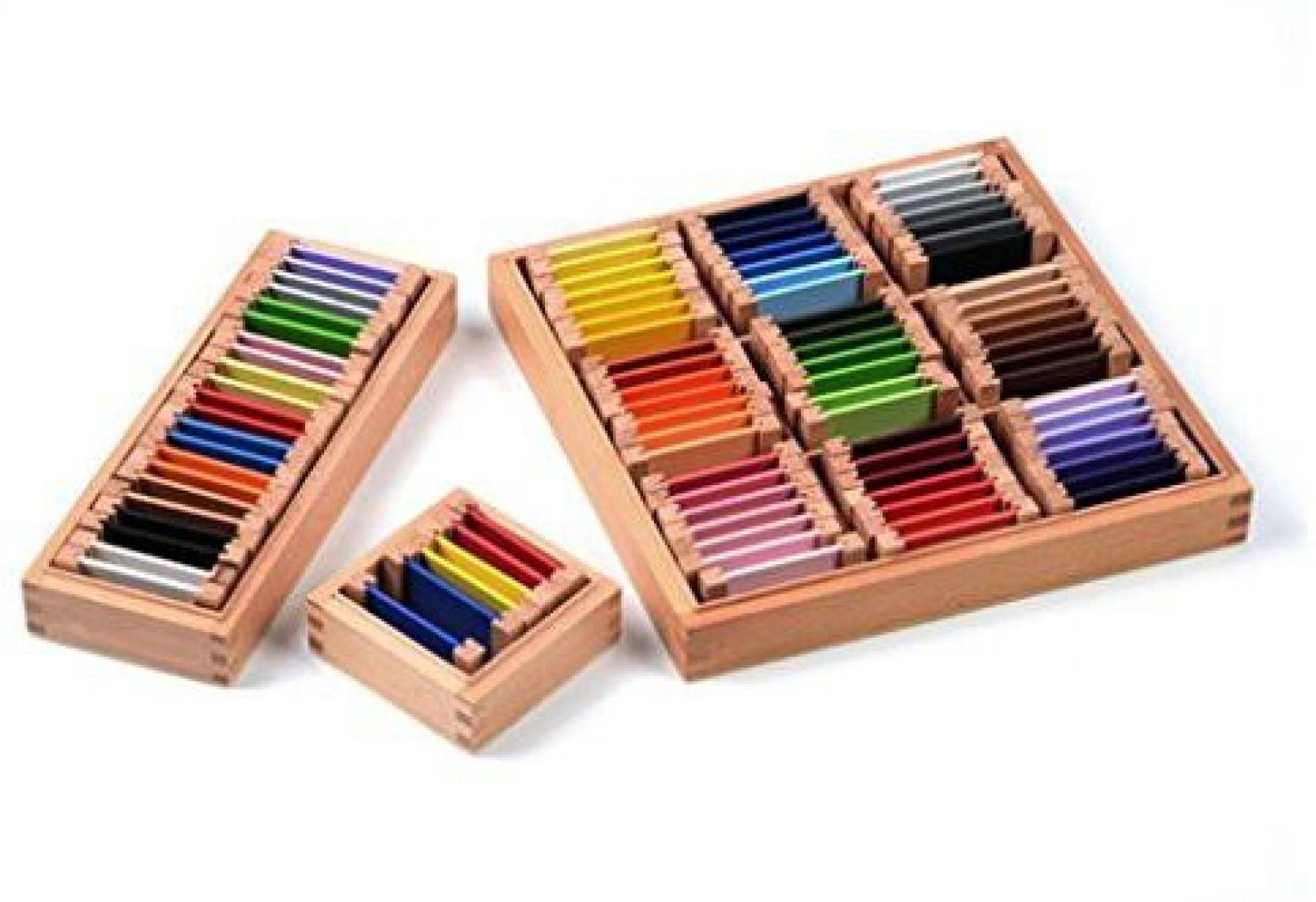 Jili Online Baby Kids Preschool Kindergarten Training Teaching Color Box  Montessori Toys (Multicolor) 36ba002f93