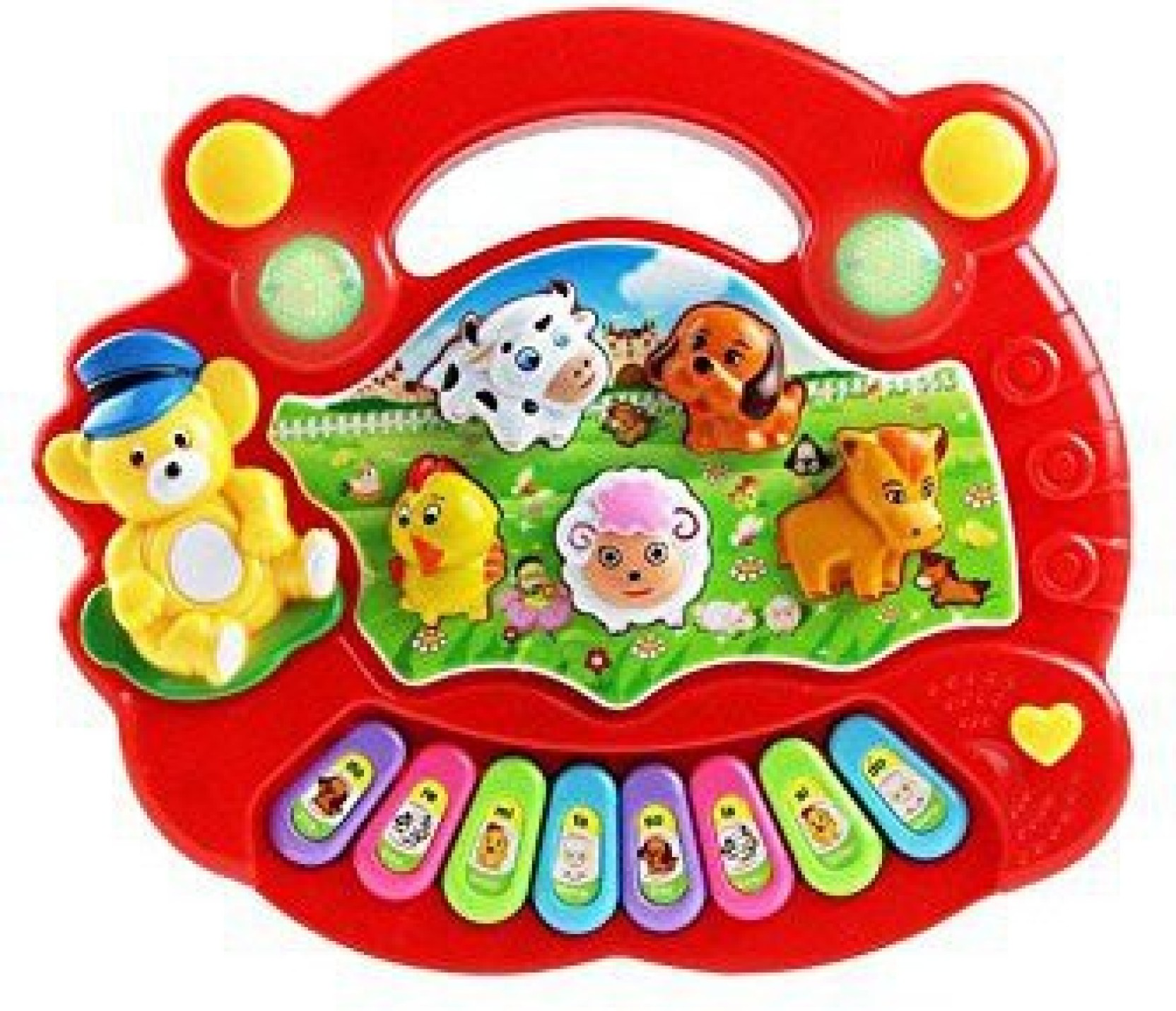 Generic Pawaca Keyboard Piano Toy Toddler Musical Instrument Enjoy Farm Music Playmat Share