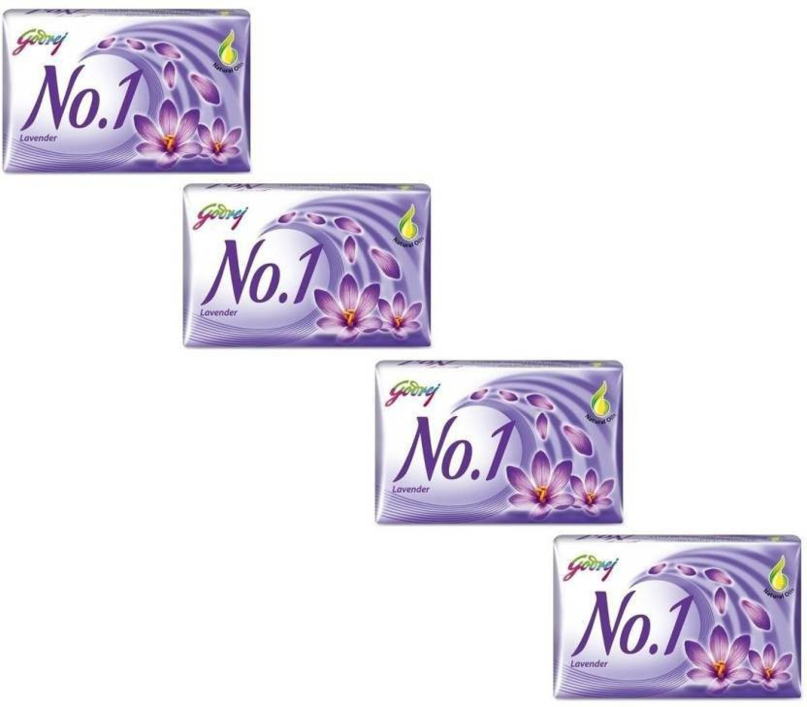 Godrej No 1 Lavender Soap Pack Of 4 Price In India Buy Cussons Baby Purple Bag Complete Care Set Share