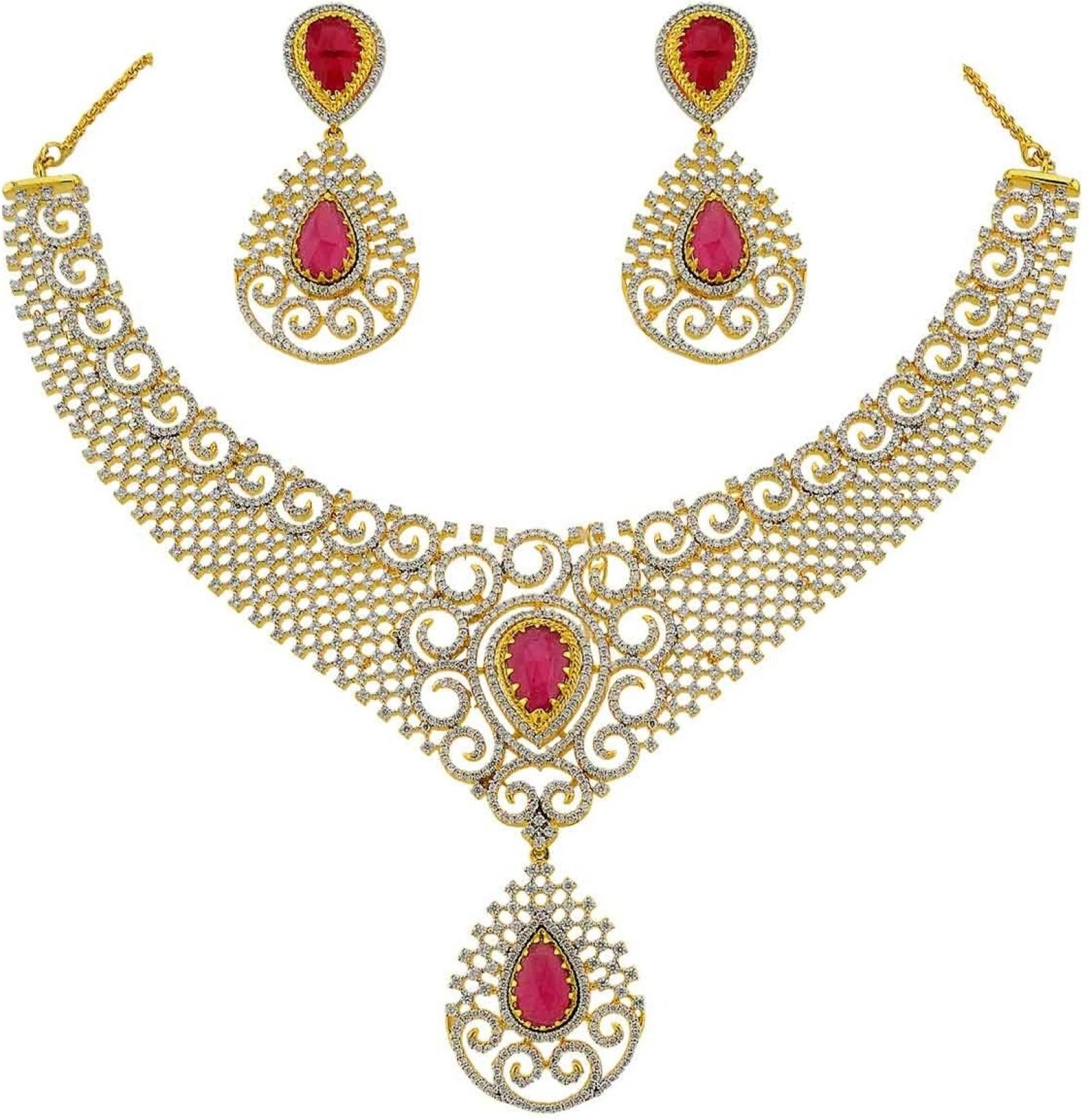The Art Jewellery Alloy Jewel Set Price In India Buy The