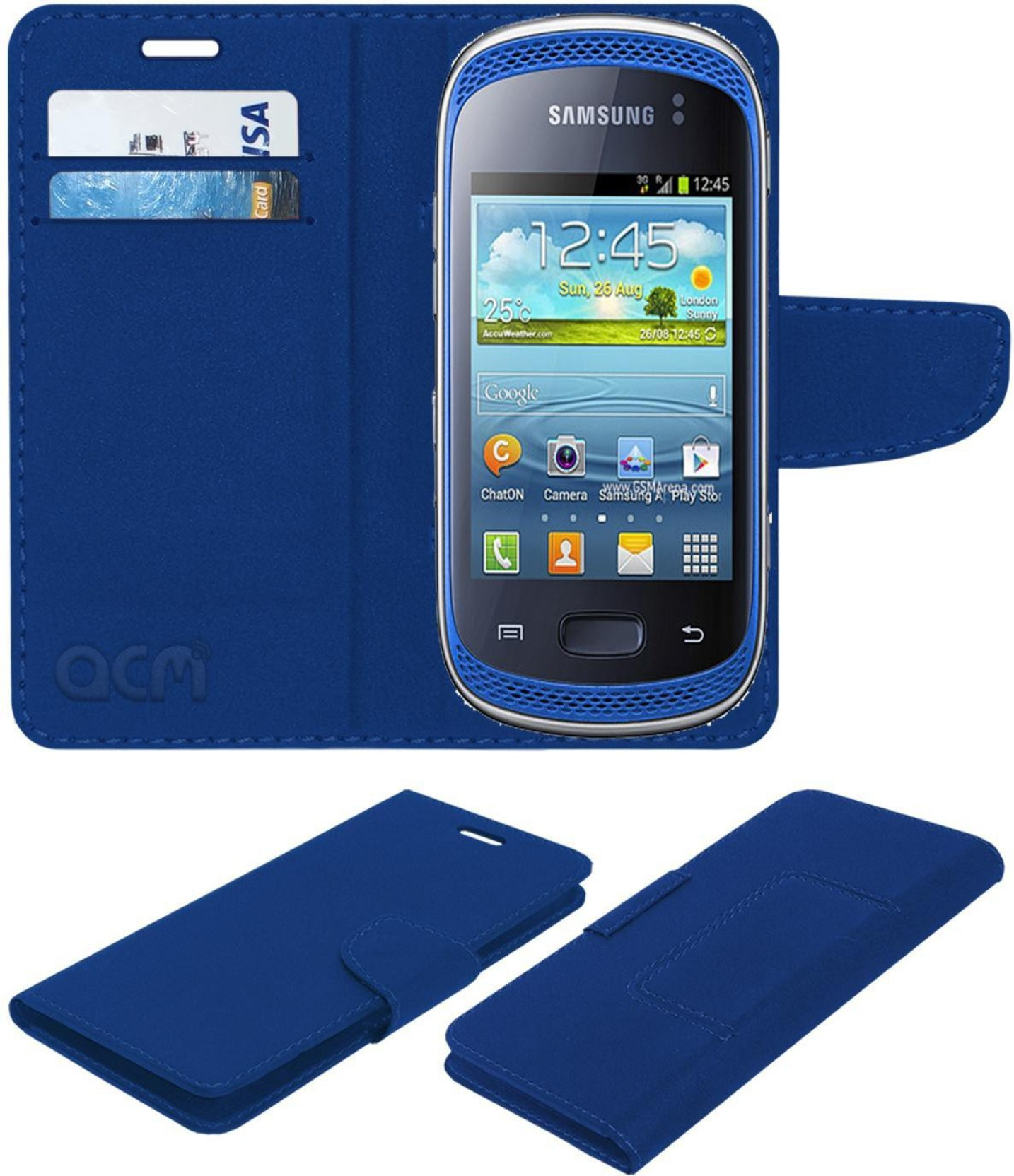ACM Flip Cover for Samsung Galaxy Music S6010 S6012