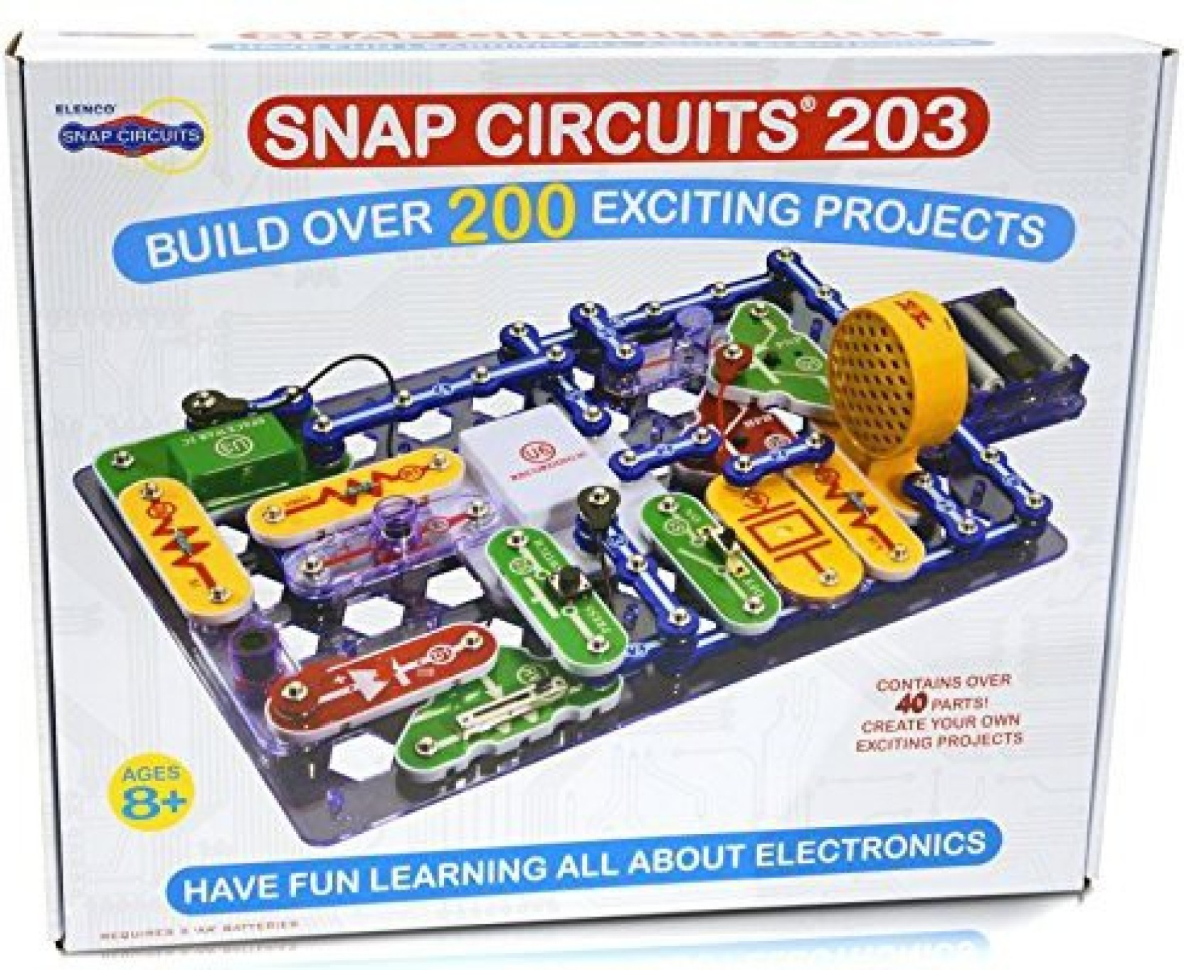 Generic Snap Circuits 203 Electronics Discovery Kit Price In India Circuitsr By Elencor Replacement Parts On Offer