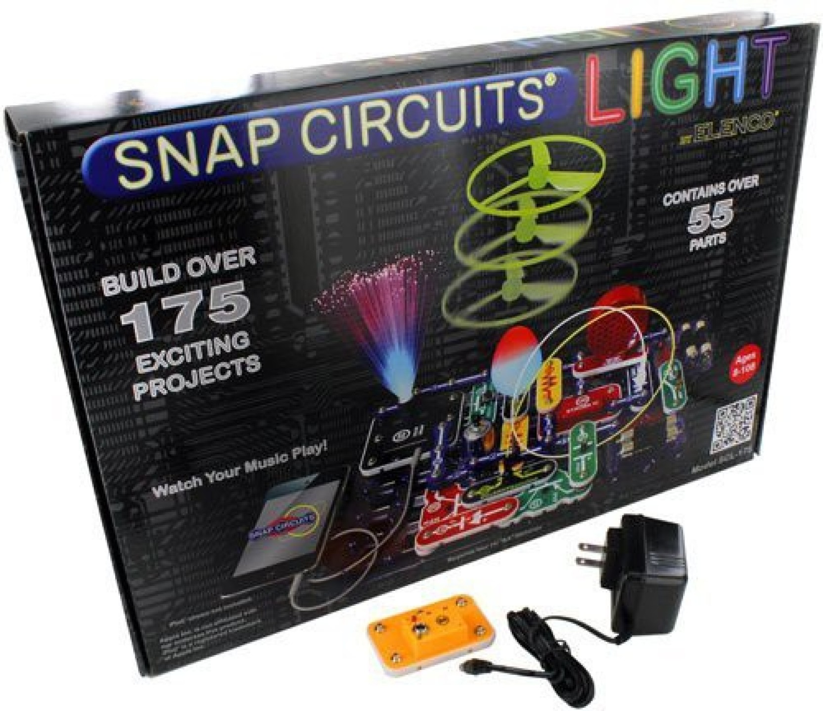 Snap Circuits Elenco Light Kit With Ac Adapter Set Price In Sound On Offer