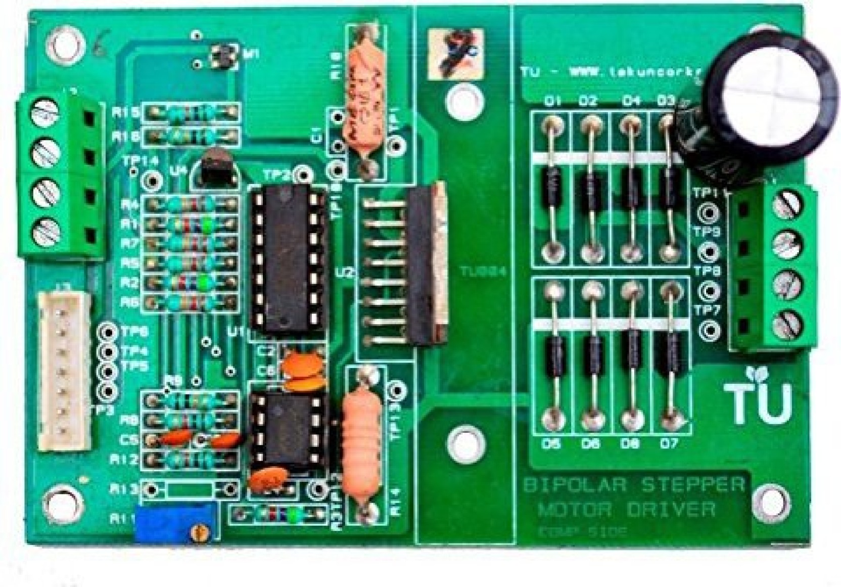 Generic Technology Uncorked 6 24v 25a 4 Wire Bipolar Stepper Motor Drive Circuitdb Driver Kit On Offer