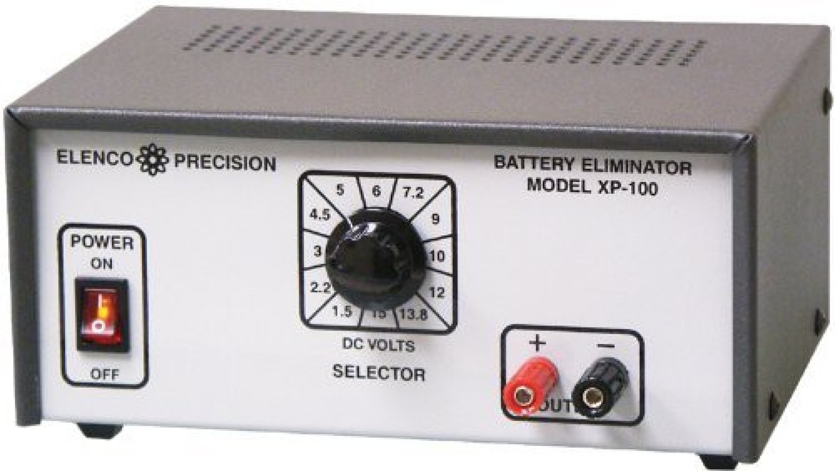 Generic Elenco Deluxe Battery Eliminator Model Xp 100 Solid Circuit Pictures On Offer