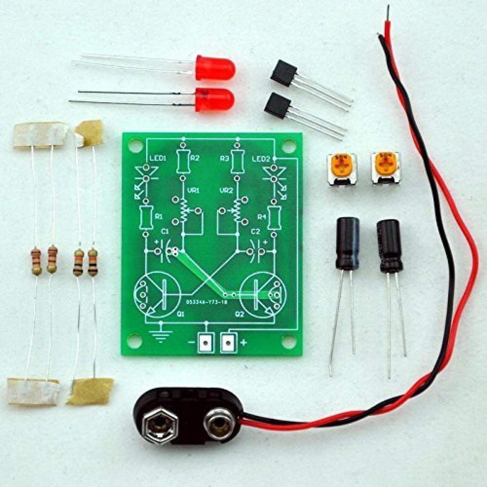Generic Adjustable Transistor Astable Multivibrator Circuit Learn Monostable On Offer