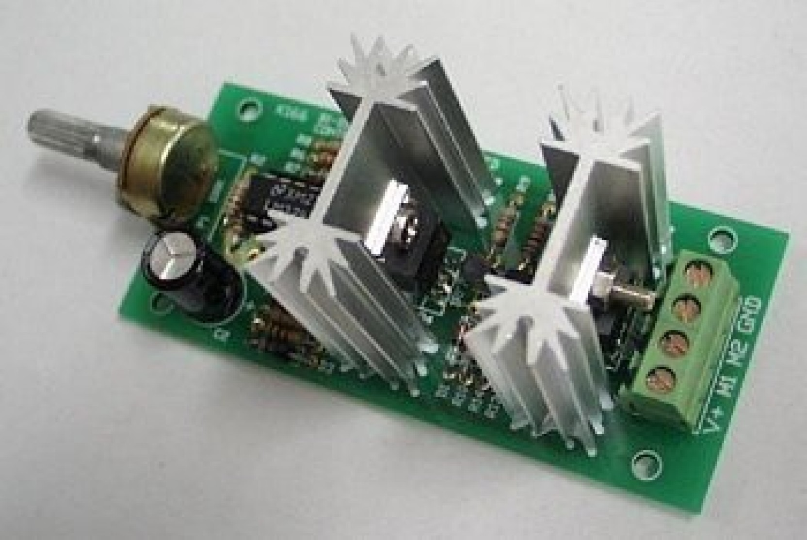 Generic Bidirectional Dc Motor Speed Controller Kit Price In Forward And Reverse The Above Can Be Used To Control Large On Offer
