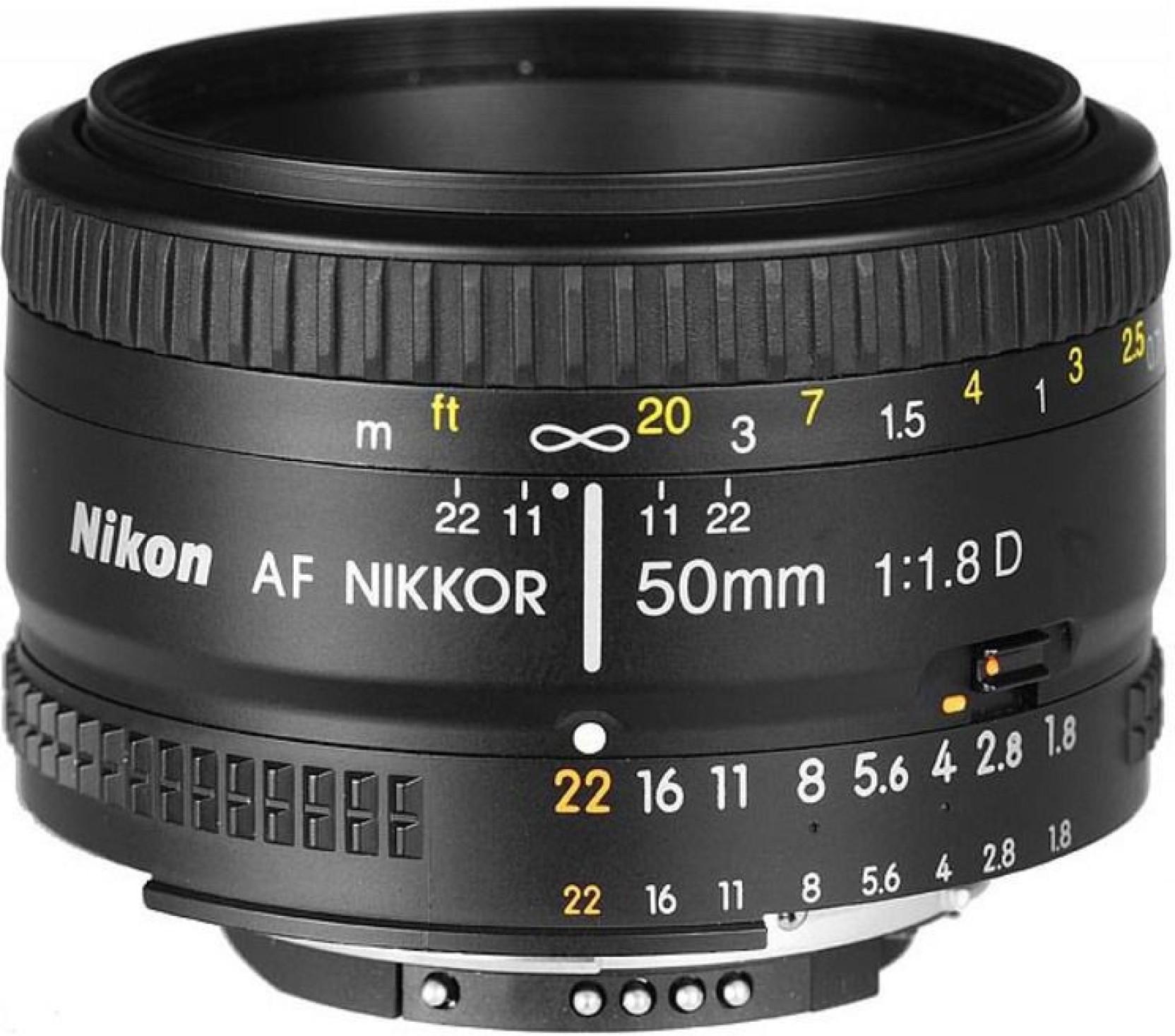 Nikon Af Nikkor 50 Mm F 18d Lens Yongnuo 50mm F18 For Mount Add To Cart