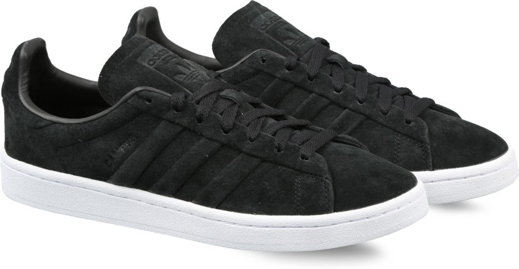 the latest 43171 02cd1 ADIDAS ORIGINALS CAMPUS STITCH AND TURN Sneakers For Men (Black)