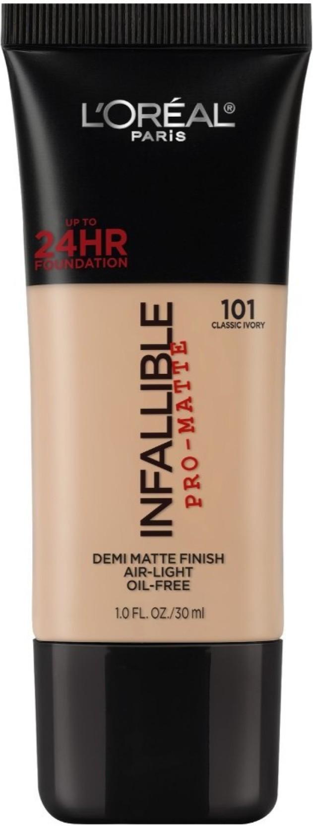L'Oreal Paris Infallible Pro-matte Foundation. ADD TO CART