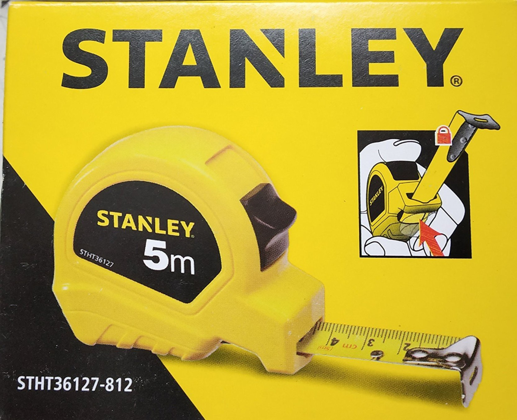 Stanley Stht36127 812 5 M Tape Measurement Price In India Buy Basic 5m 16 Add To Cart