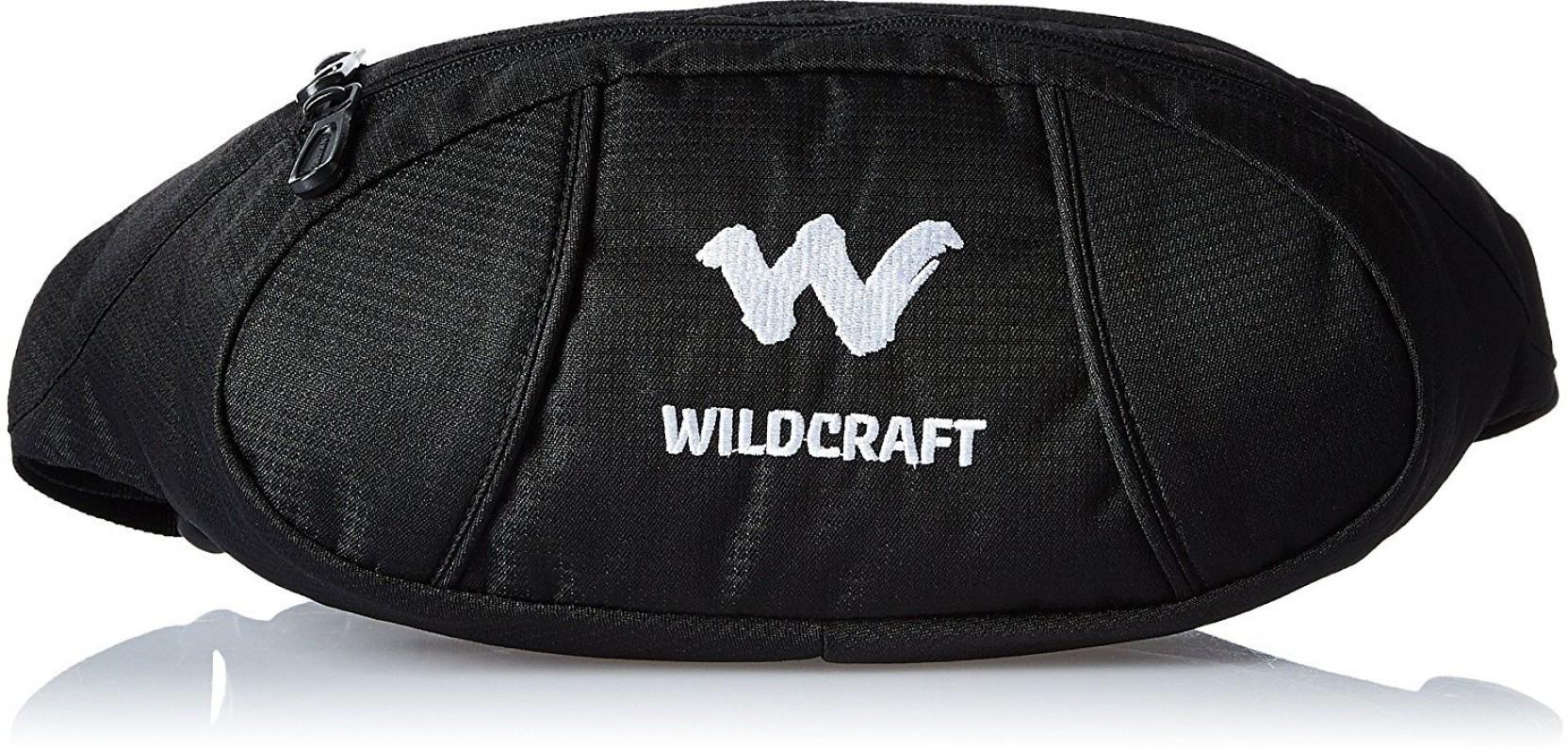 Wildcraft Waist Bag Black - Price in India | Flipkart com