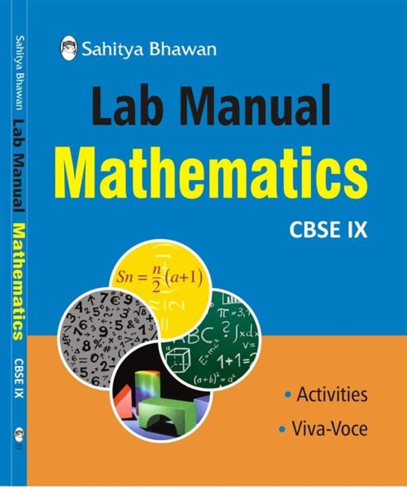 Lab Manual MATHEMATICS Class IX. ADD TO CART