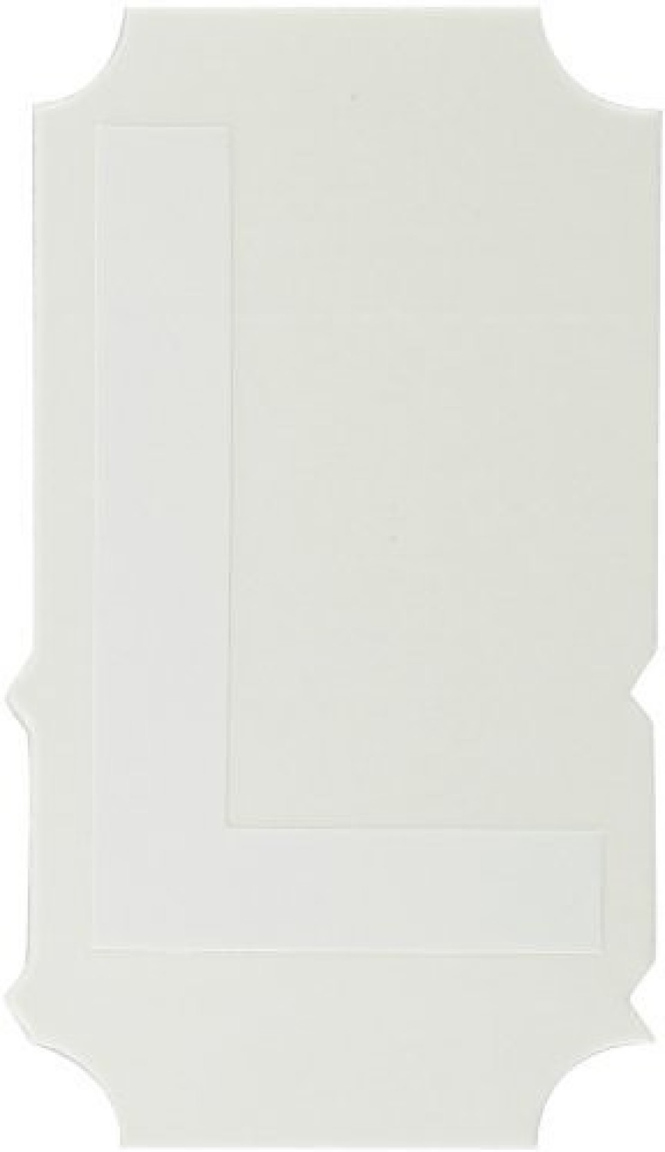 White 150 x 4 Brady B30C-4000-423 Polyester Continuous Tape