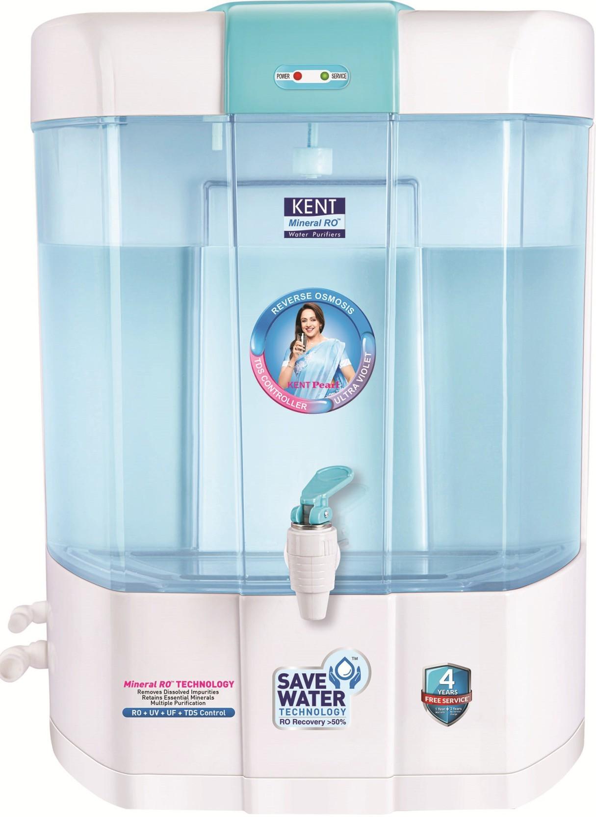 Kent PEARL(11002) 8 L RO + UV +UF Water Purifier - Kent : Flipkart.com
