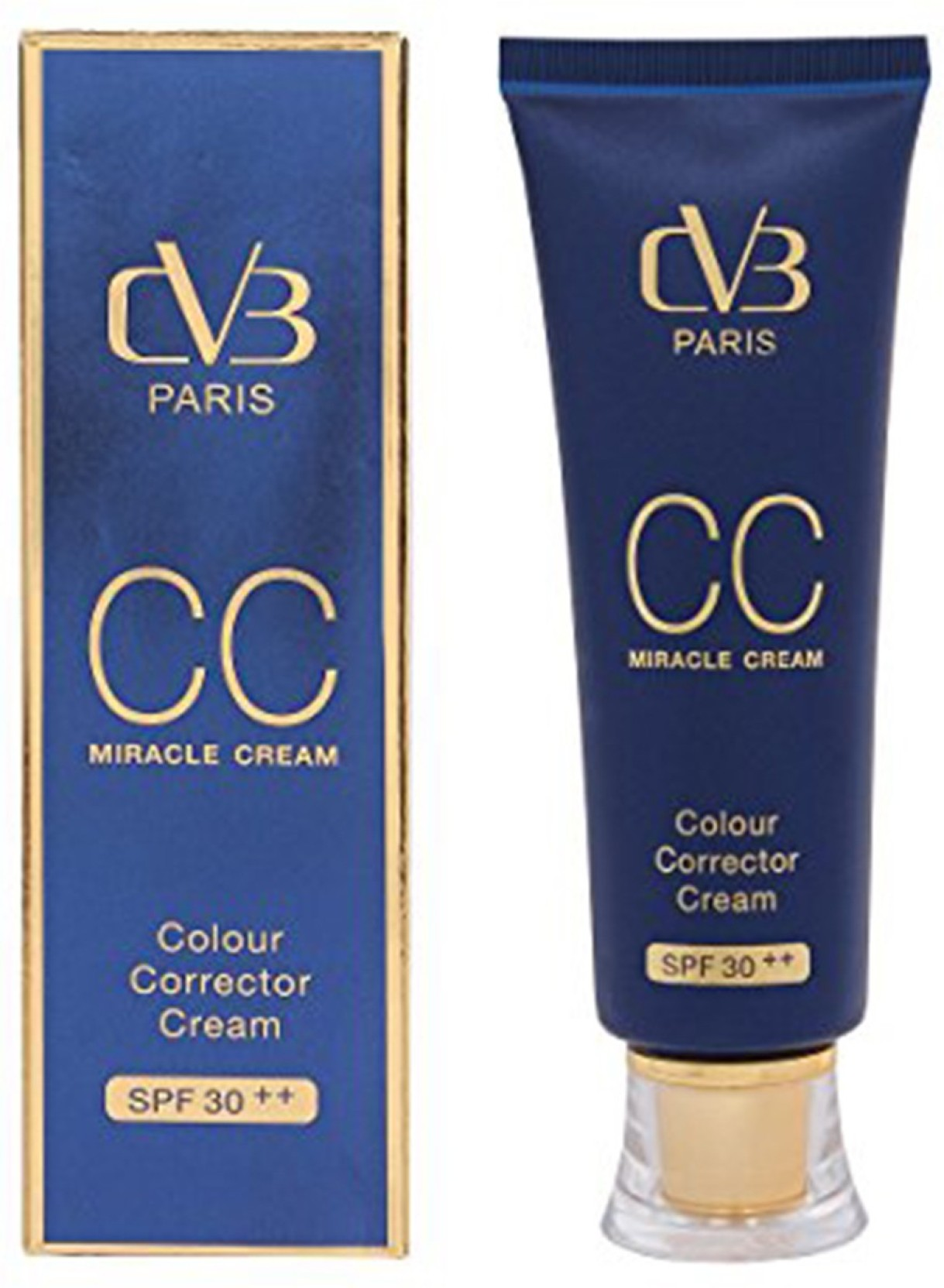 Cvb Paris Cc Miracle Cream Foundation Spf 30 50gm Price In Fair N Pink Moisturizer Whitening Uv Protector On Offer