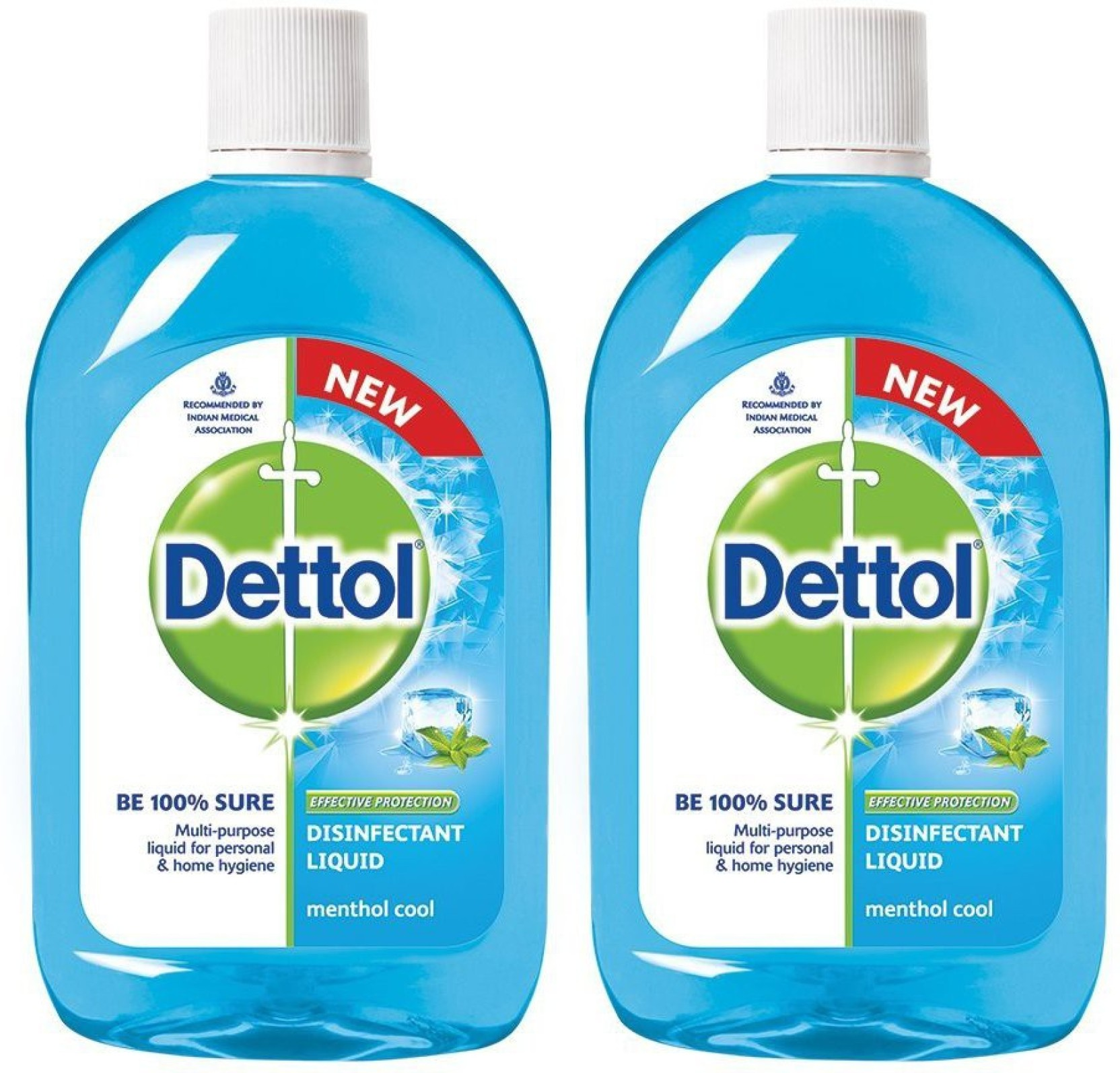 Dettol Disinfectant Liquid 500 Ml Pack Of 2 Kitchen Cleaner Original Series Package Home