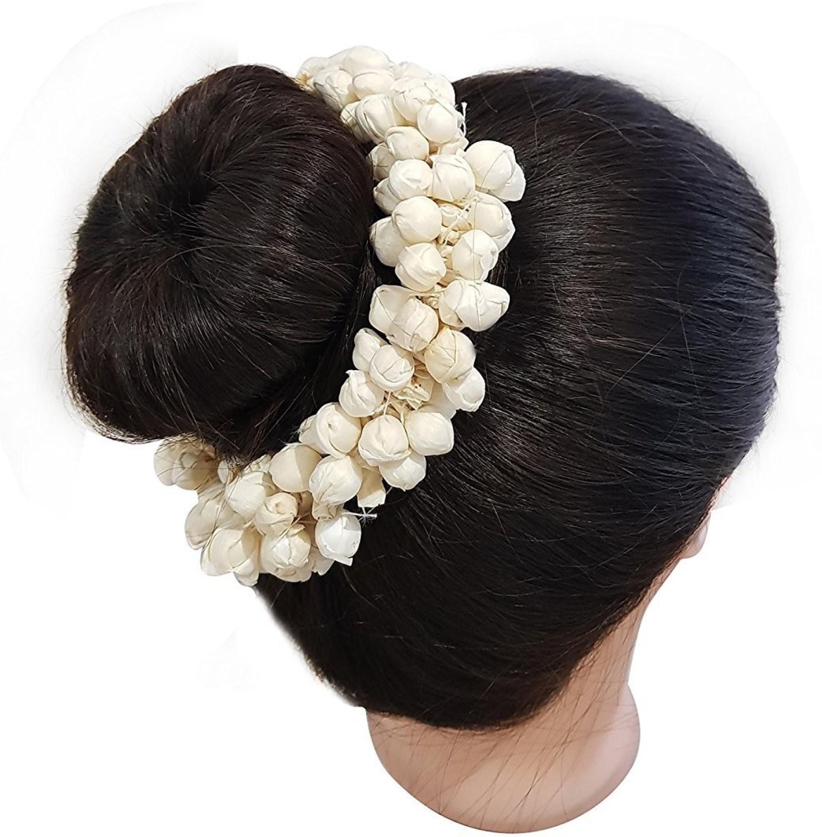 raaya hair accessories gajra flowers | gajra for hair south