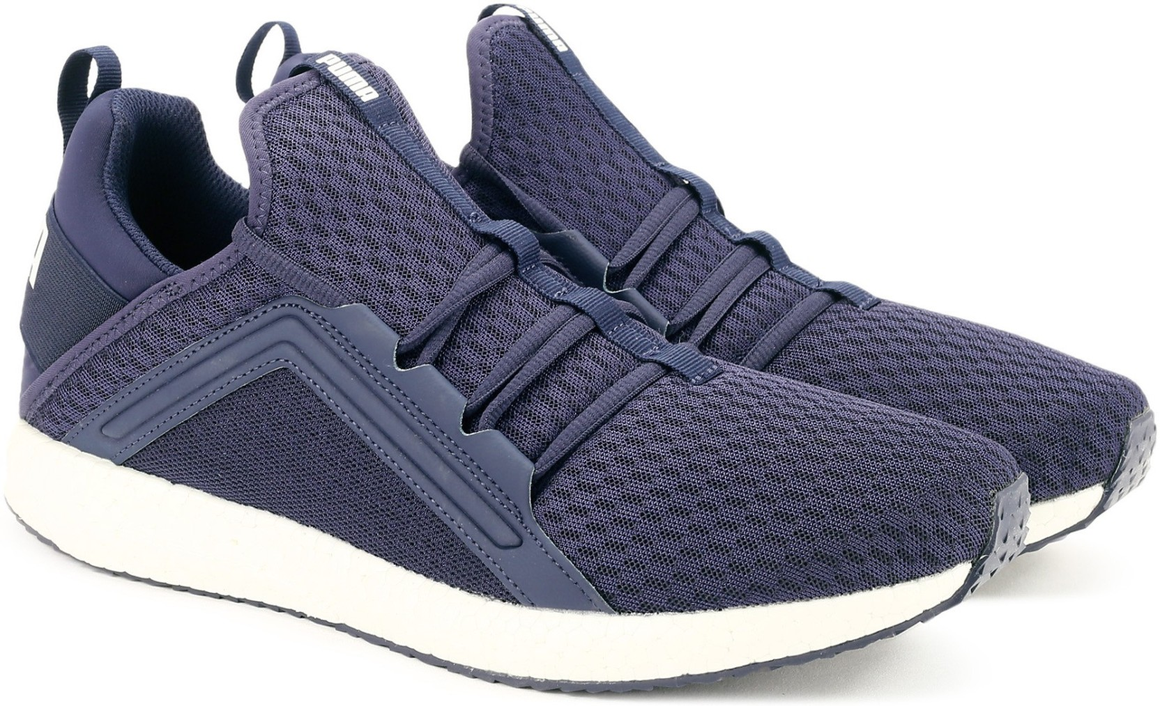 Puma Mega NRGY Running Shoes For Men - Buy Peacoat-Puma White Color ... ba37524ac