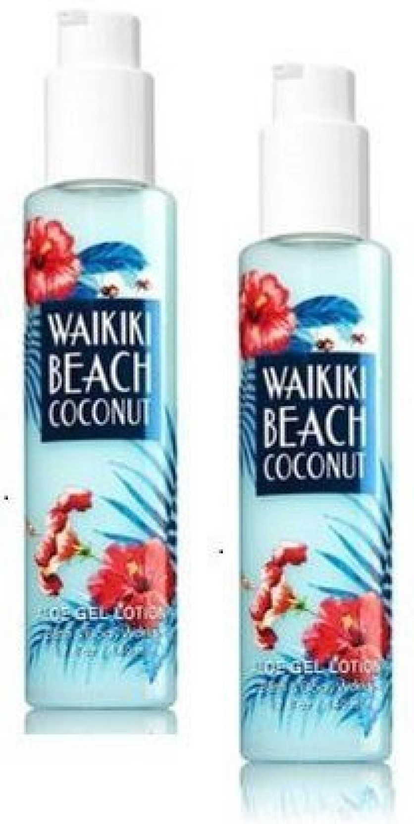 Generic Bath And Body Works Pack Waikiki Beach Coconut Aloe