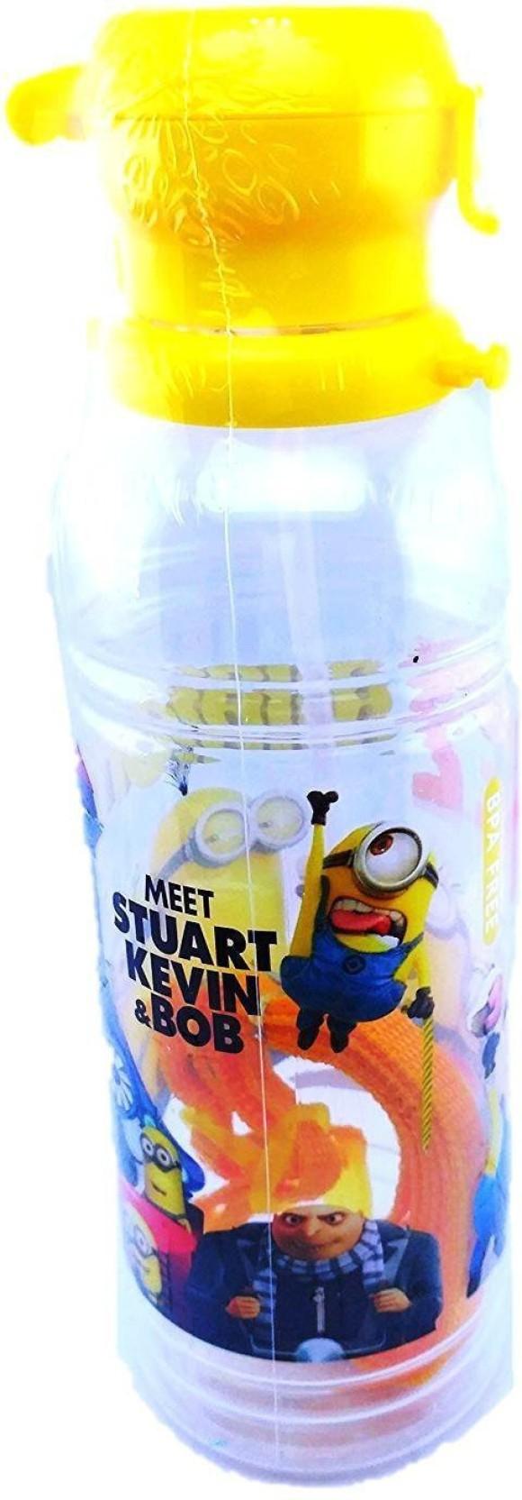 3e14d13e2e Oytra Minion BPA Free Unbreakable Transparent Sipper Bottle 550 ml Water  Bottle. ADD TO CART