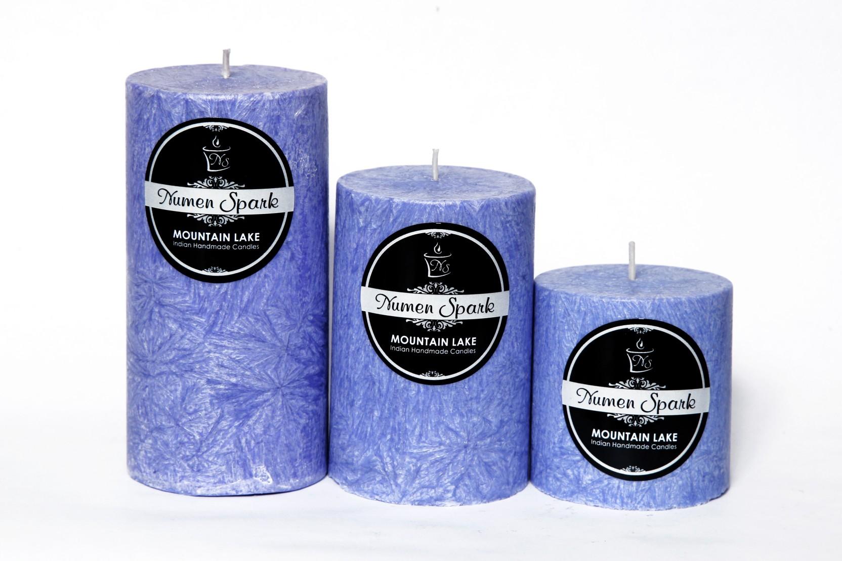Home Decor Candles & Tea Lights Silver Sparking Candles By G Decor
