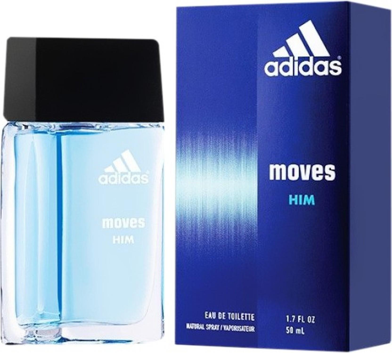 Buy Adidas Moves Eau De Toilette 50 Ml Online In India Parfum Original Get Ready Share