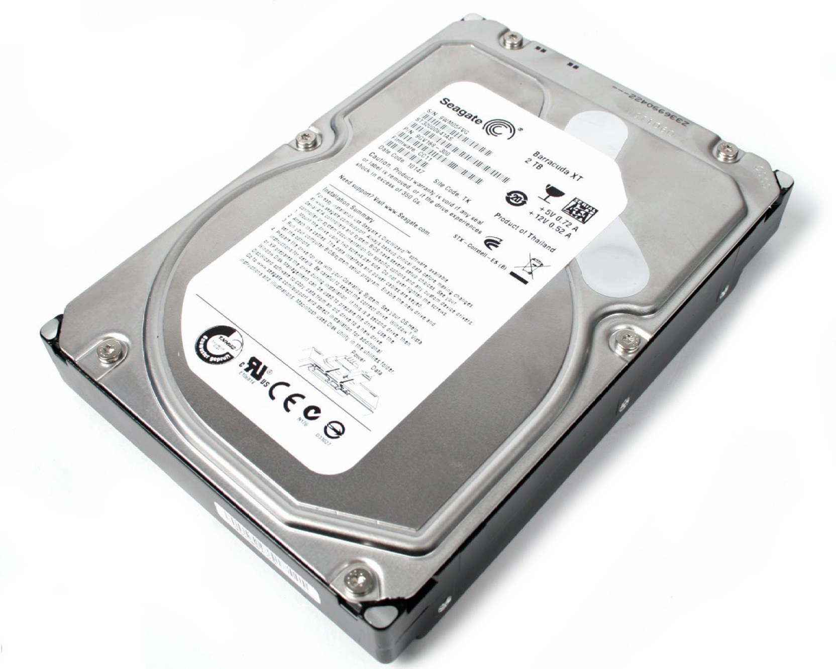 Tempat Jual Seagate Barracuda Hard Disk Internal 2 Tb 35 Inch Sata Police 14685jsb 61 Hitam Desktop Drive Model Number May Vary