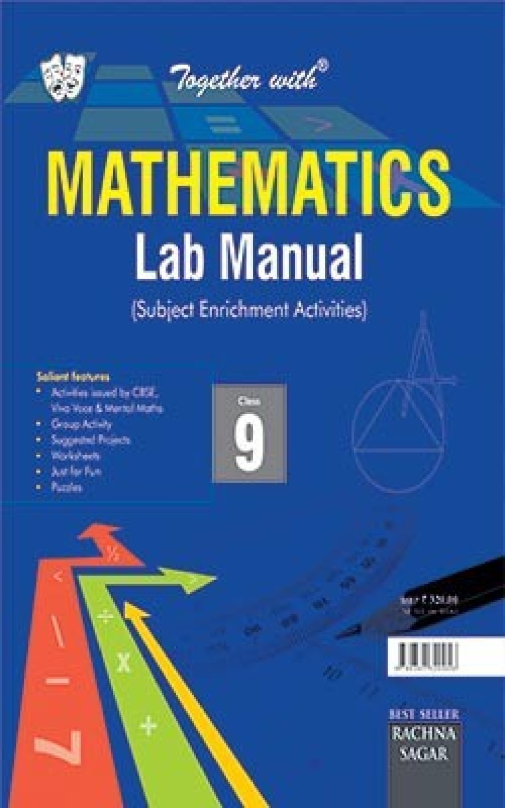 Together With CBSE/NCERT Lab Manual Mathematics for Class 9 for 2019  Examination. ADD TO CART