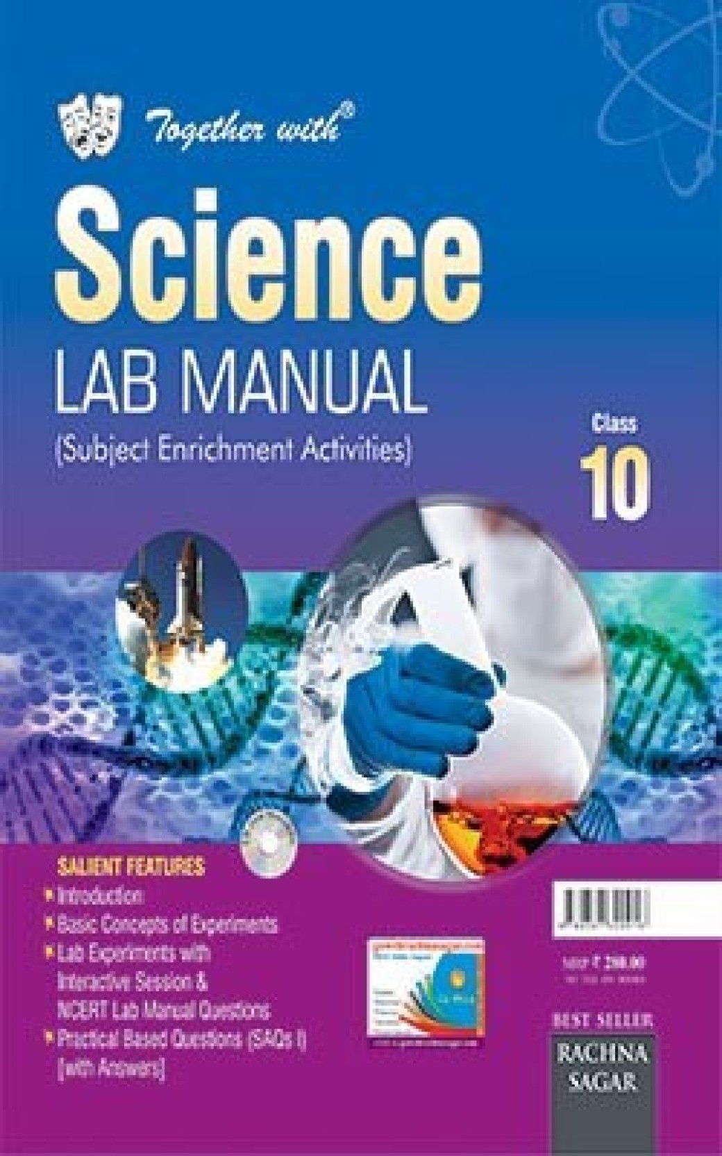 Together With CBSE/NCERT Lab Manual Science for Class 10 for 2019  Examination. ADD TO CART