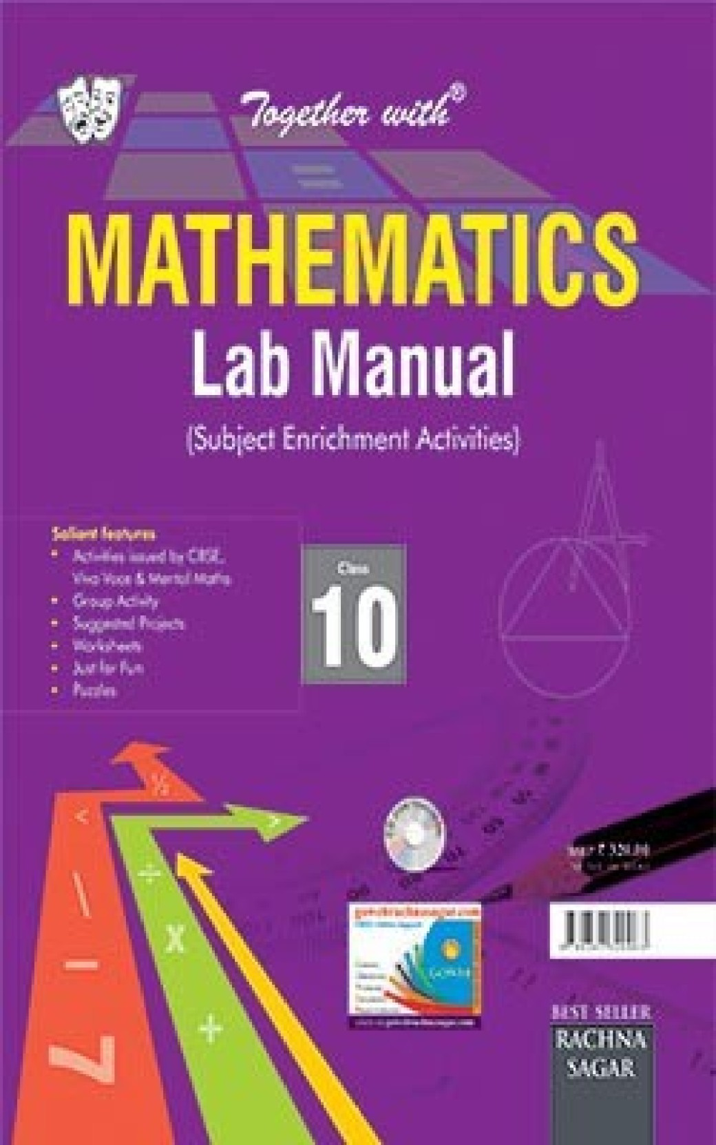 Together With CBSE/NCERT Lab Manual Mathematics Class 10 for 2019  Examination. ADD TO CART