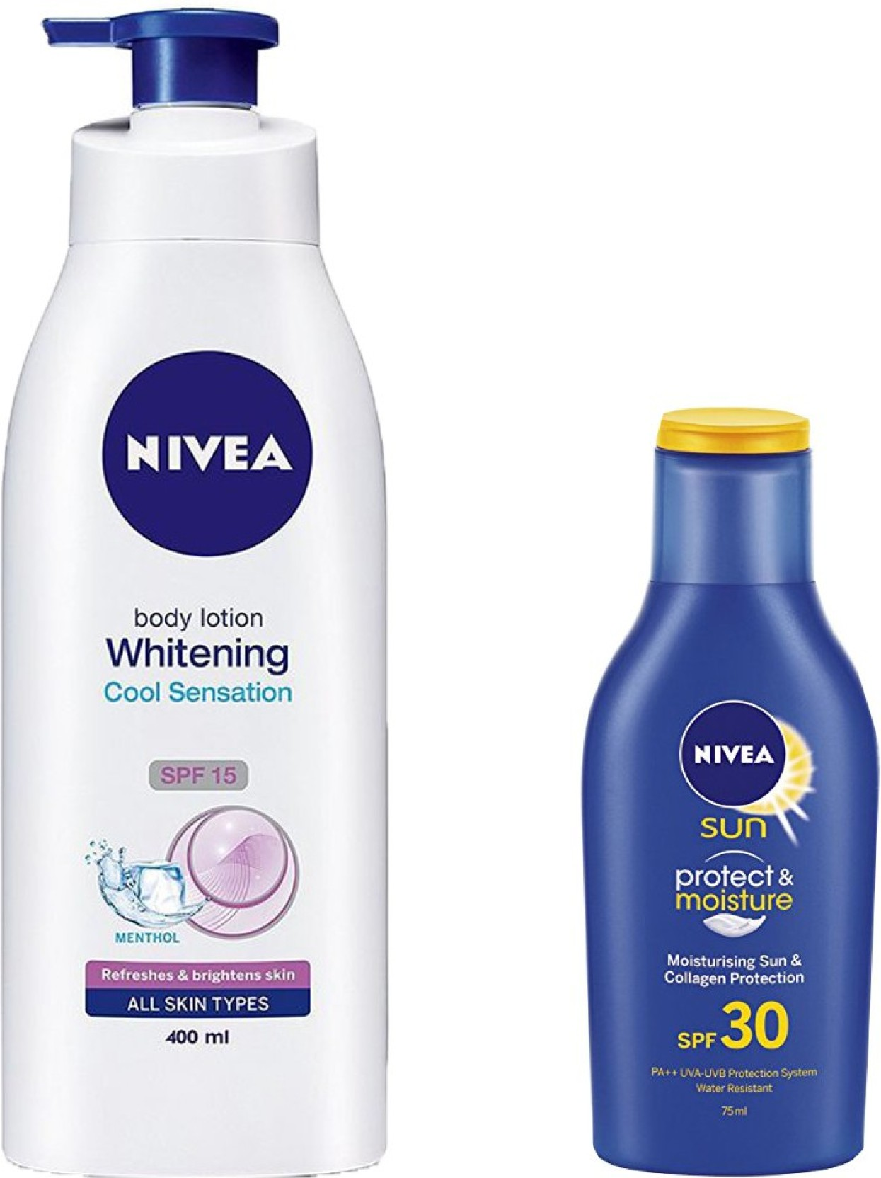 Nivea Whitening Cool Sensation Spf 15 Body Lotion 400 Ml Sun Protect Add To Cart