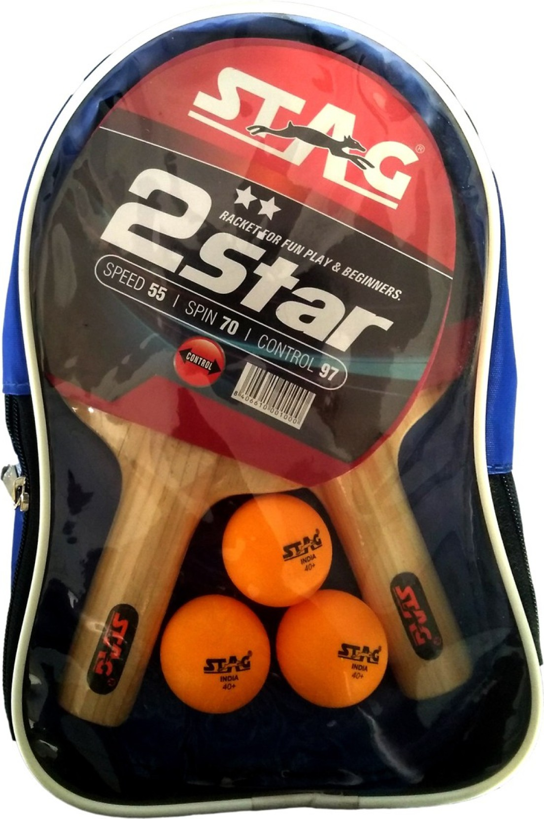 Stag 2 Star Playset With Bat3 Balls Table Tennis Kit Buy Racket Diagram Parts Of A Racquet Beginners Guide Add To Cart