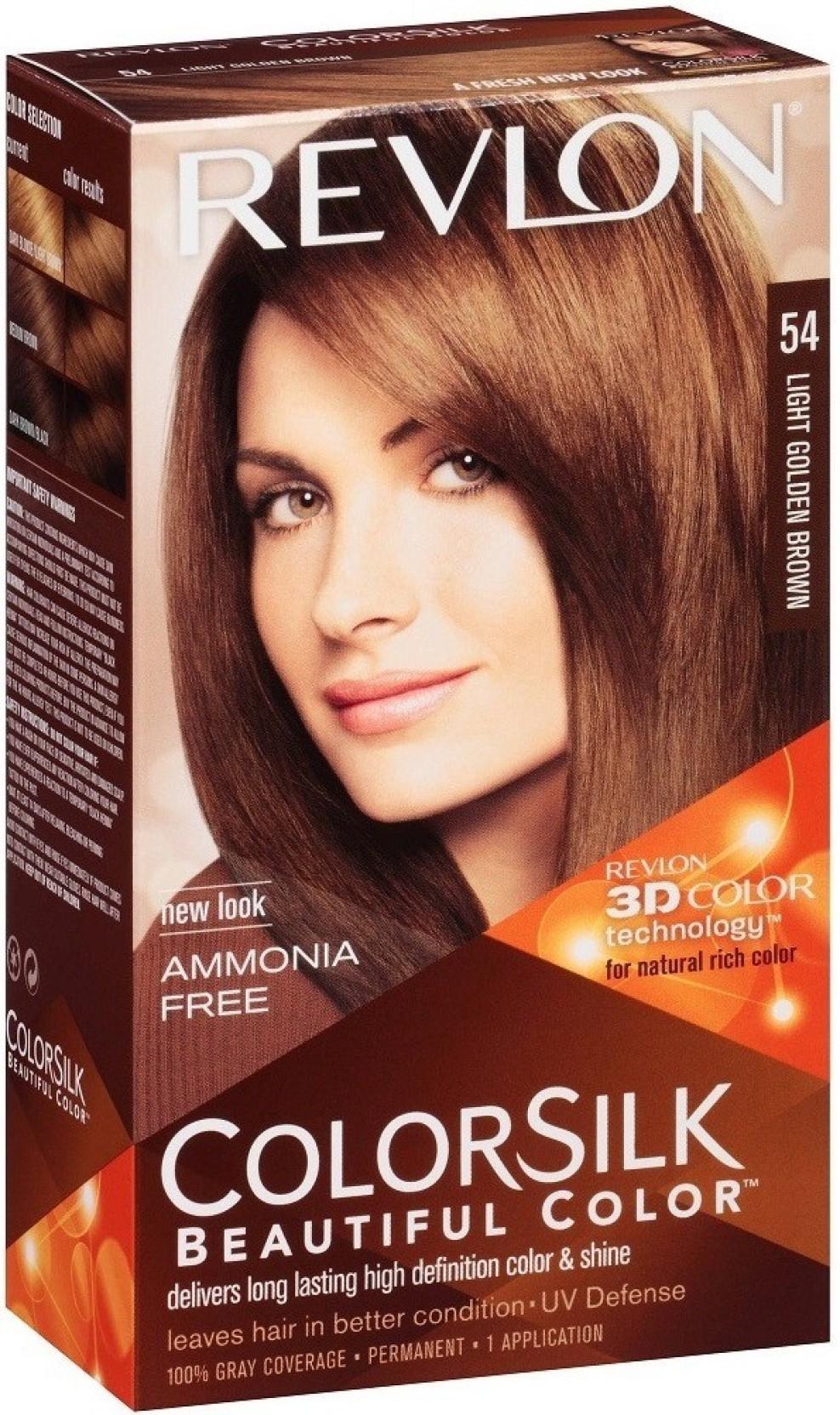 Revlon Light Golden Brown No 54 Hair Color Price In India Buy
