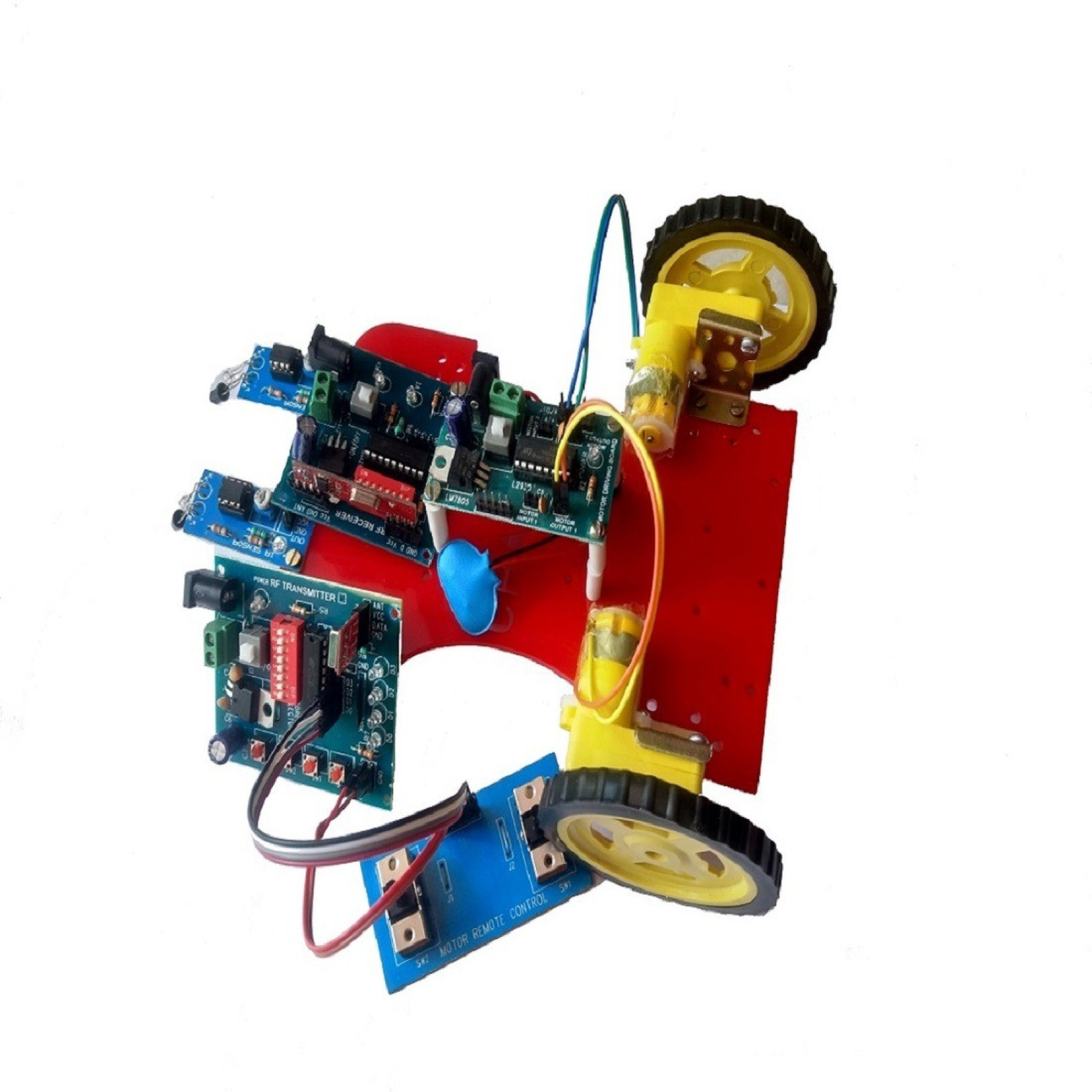 Embeddedelectronics Line Follower Robot Without Microcontroller
