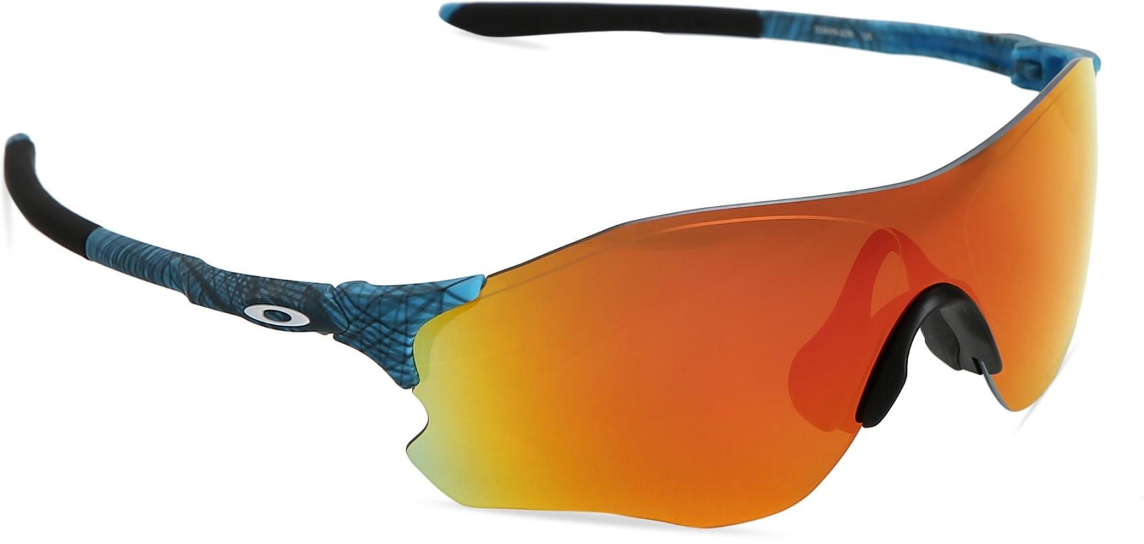 02f3f60d72 Buy Oakley EVZERO PATH Sports Sunglass Red For Men   Women Online ...