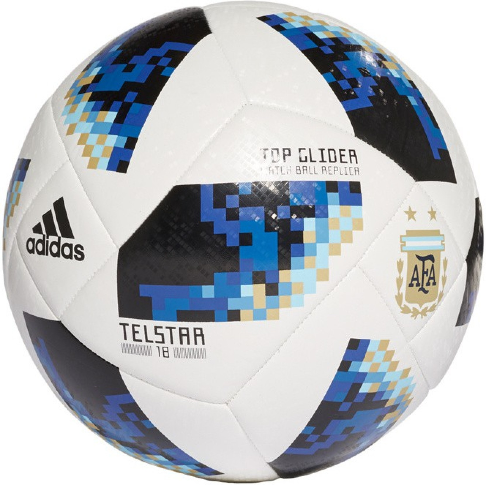 df8d3fbd2 ADIDAS FIFA WORLD CUP Argentina Supporters GLIDER BALL Football - Size: 5  (Pack of 1, Multicolor)