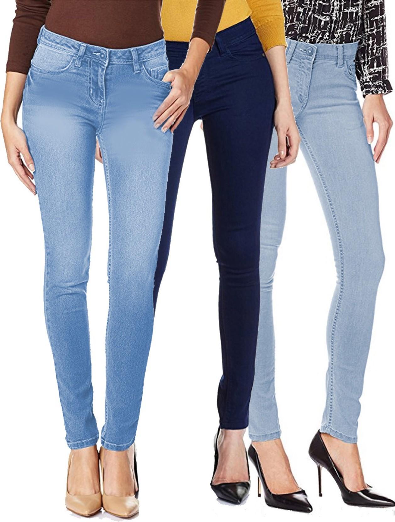 Fuego Regular Women Light Blue, Blue Jeans - Buy Fuego