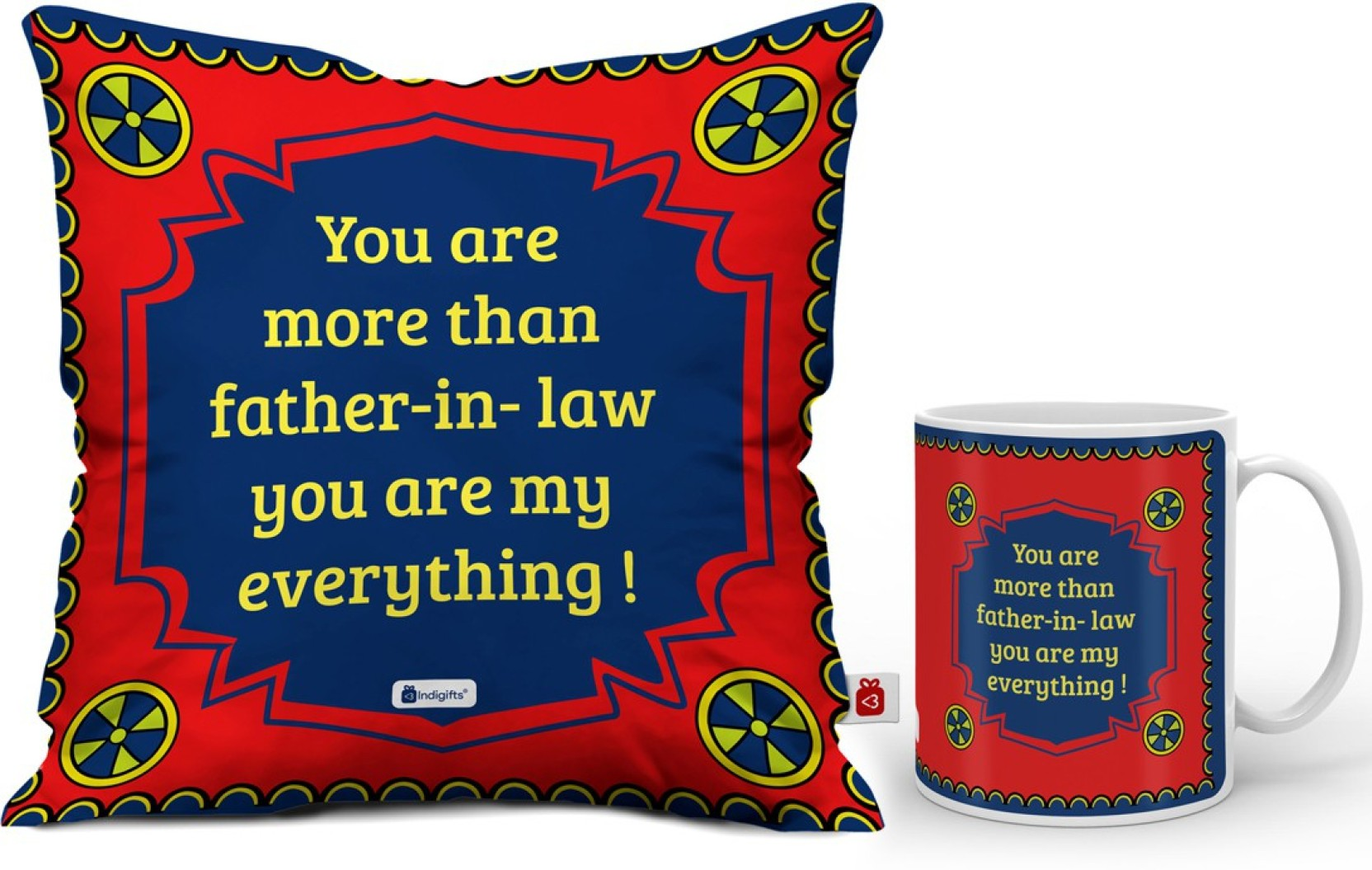 Indigifts Gift For Father In Law Fathers Birthday Dad Mug