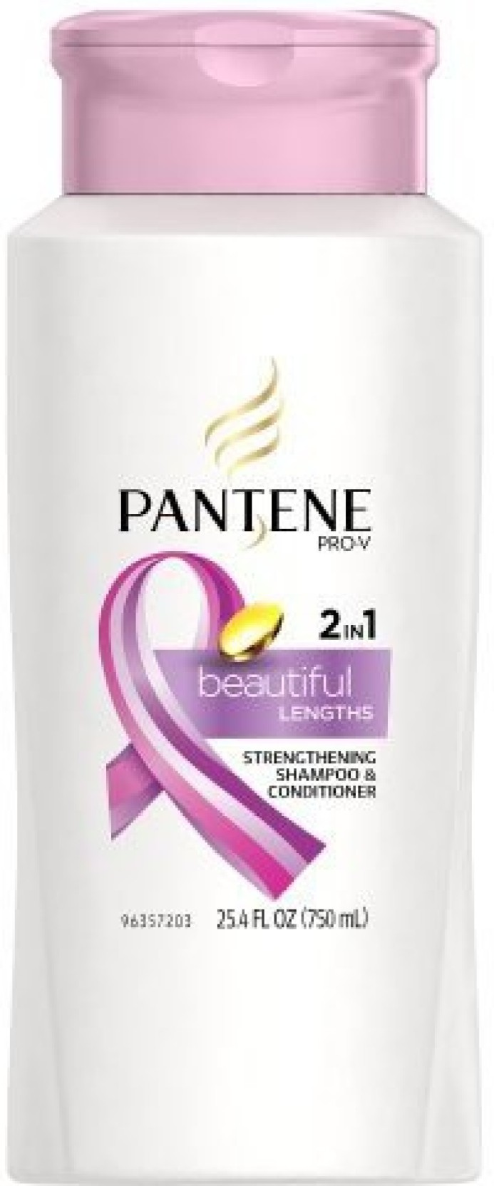 Pantene Prov Beautiful Lengths Strengthening In Shampoo Sampo Total Damage Care 750ml On Offer