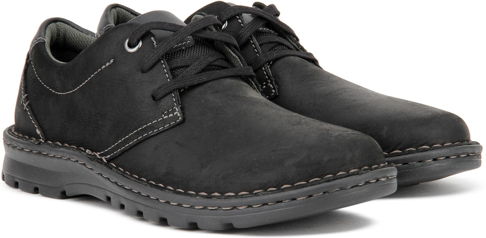94ce3915edd Clarks Vanek Plain Casual For Men - Buy Black Leather Color Clarks ...