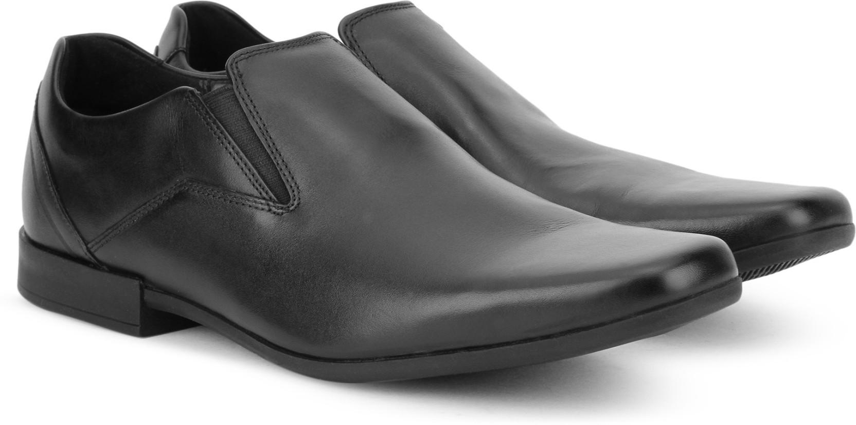 78db0f0897f Clarks Glement Slip Slip On For Men - Buy Black Leather Color Clarks ...