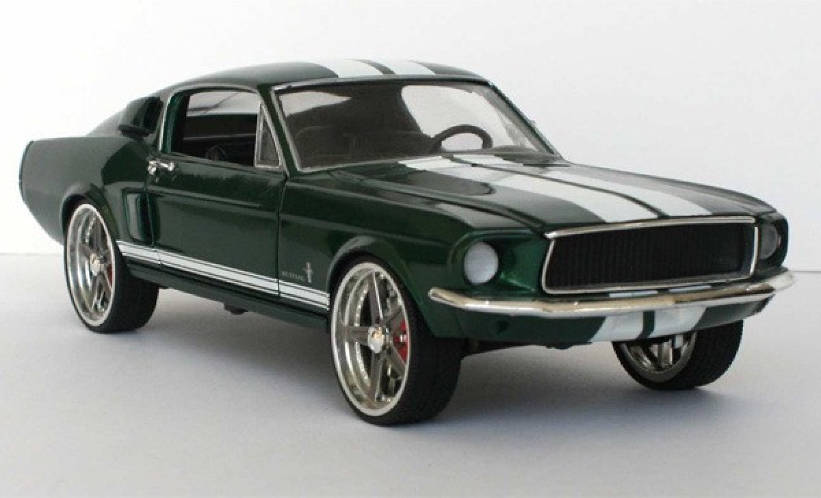 Jada toys fast furious 132 1967 ford mustang 627c green metal die cast multicolor