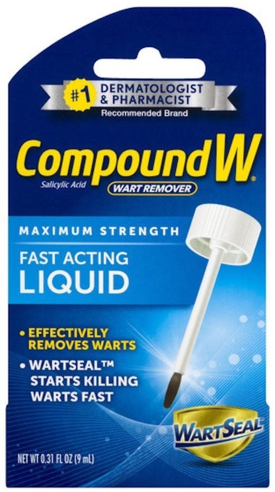 Compound W Wart Remover Liquid-0 31 oz  Price in India - Buy