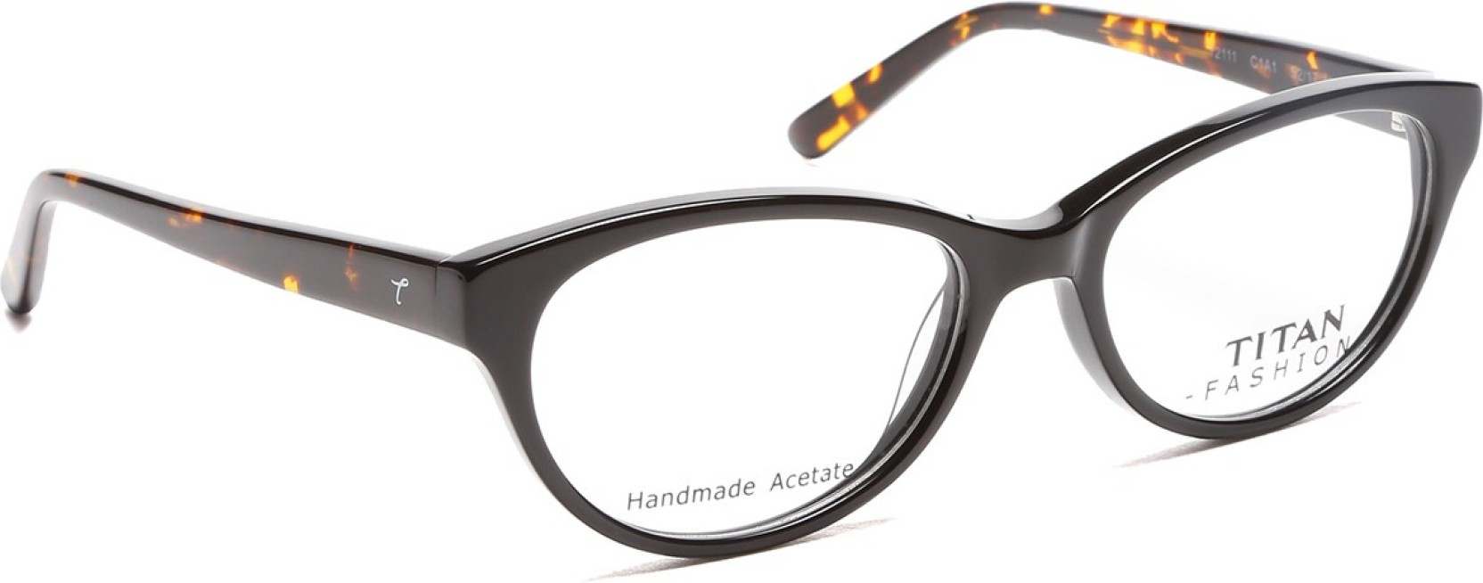 f19b65e8b6 Titan Full Rim Cat-eyed Frame Price in India - Buy Titan Full Rim ...