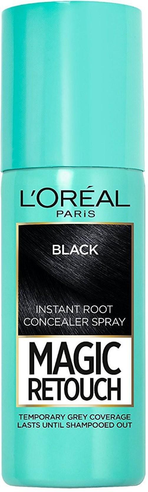 a964f0585d760 L'Oreal Paris Magic Retouch, Black, 75ml Instant Root Concealer ...