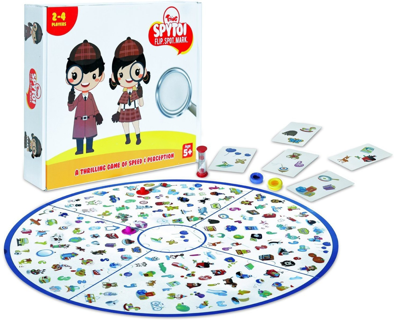 Disc Flipping Board Game