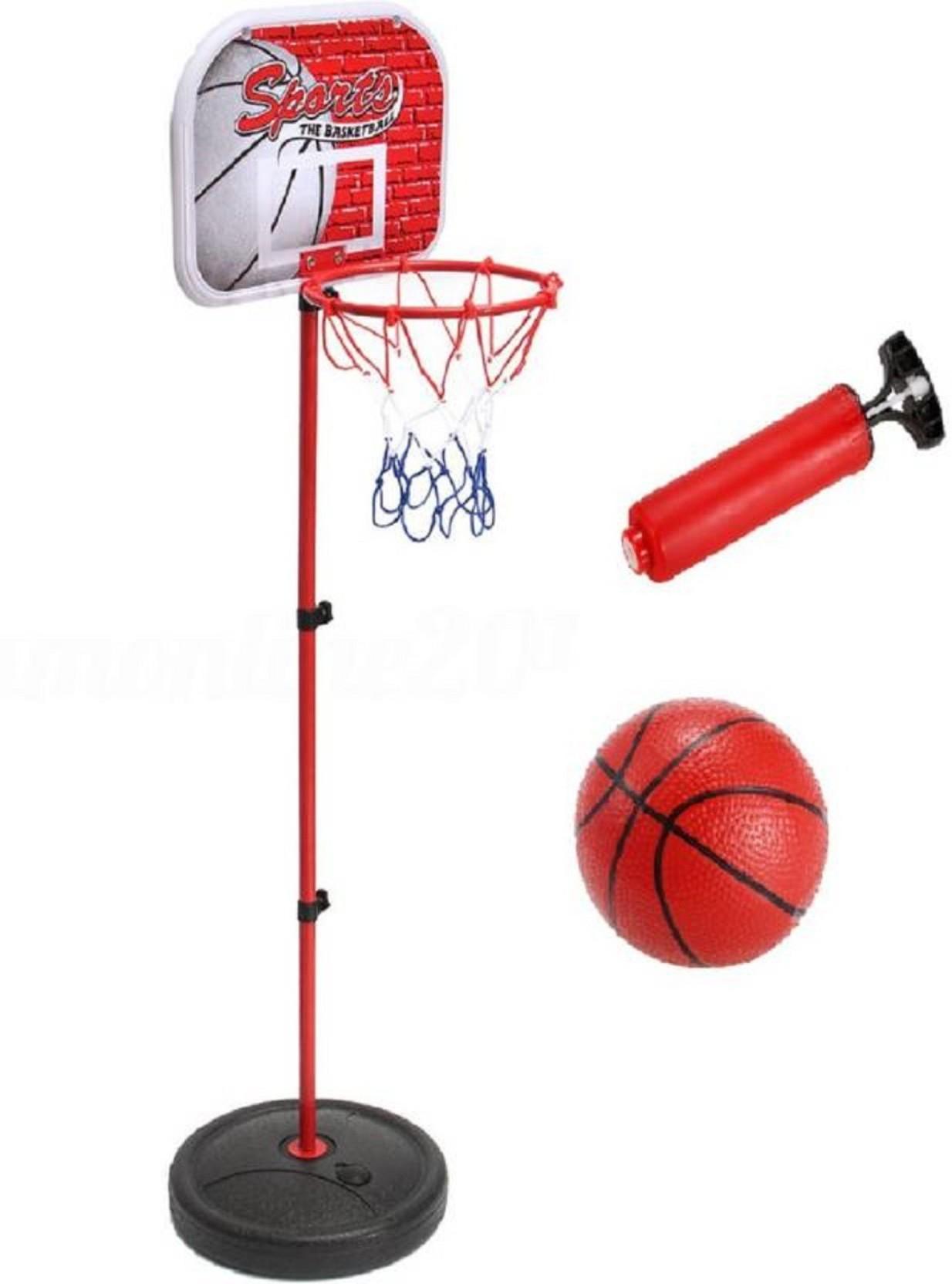 4cb4418b34f Vortex Toys Adjustable Height Kids Sports Portable Basketball Ball ...